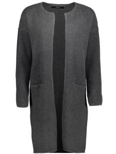 Vero Moda Vest VMLISE LS O-NECK COATIGAN NOOS 10168088 Dark Grey Melange
