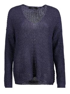 vmescalon ls v-neck blouse 10188906 vero moda trui nightshade
