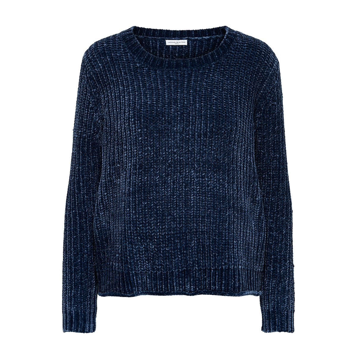 jdymine l/s cropped pullover knt 15140927 jacqueline de yong trui dress blues