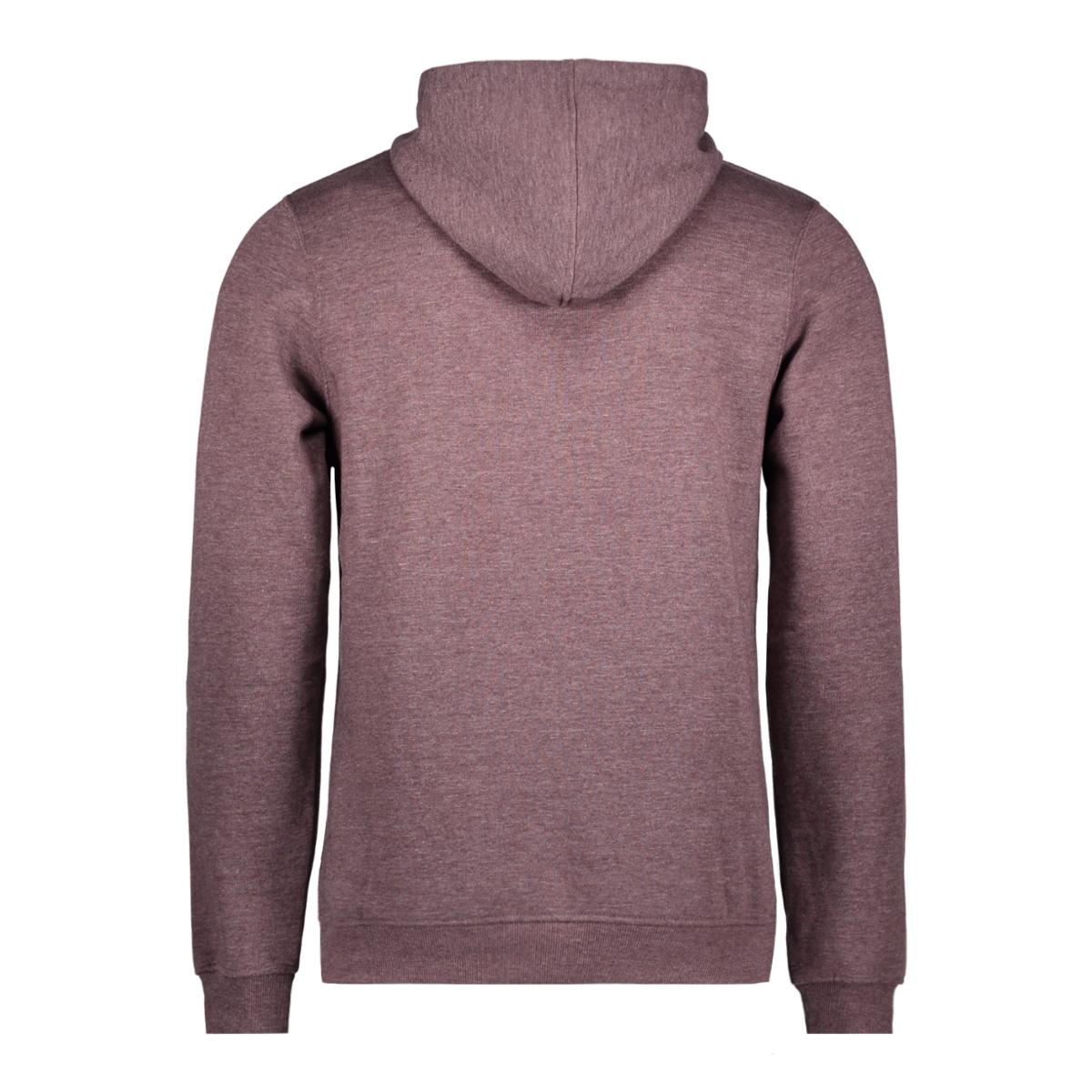 jcolano sweat hood bf 12128568 jack & jones sweater fudge