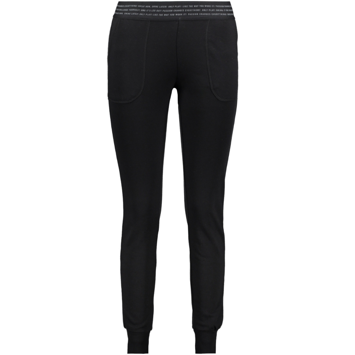 onpvonda slim sweat pants prs 15139507 only play sport broek black