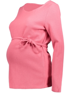 Mama-Licious Positie trui MLAMY L/S JERSEY TOP 20008105 Rapture Rose