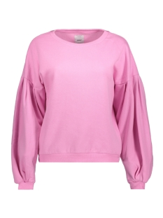 onlabsolute balloon sleeve cc swt 15149158 only sweater begonia pink