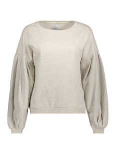 onlabsolute balloon sleeve cc swt 15149158 only sweater oatmeal