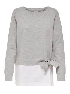 Only Sweater onlANCONA L/S O-NECK MIX SWT 15147253 Light Grey Melange