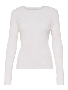 Only Trui onlNATALIA L/S RIB PULLOVER CC KNT 15145960 Cloud Dancer