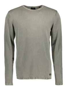 Only & Sons Trui onsGARSON WASH CREW NECK KNIT NOOS 22006806 Seagrass