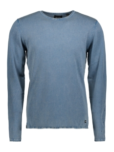 Only & Sons Trui onsGARSON WASH CREW NECK KNIT NOOS 22006806 Copen Blue