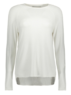 onlmila lacy l/s pullover knt noos 15150242 only trui cloud dancer