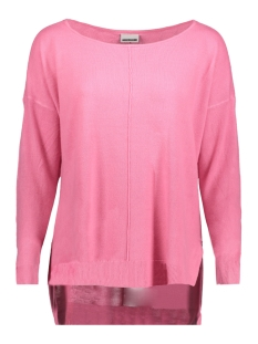 Noisy may Trui NMCHEN L/S BOATNECK LONG KNIT CLR 27001084 Carmine Rose