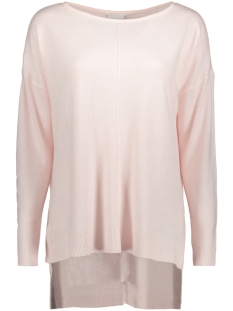Noisy may Trui NMCHEN L/S BOATNECK LONG KNIT CLR 27001084 Barely Pink