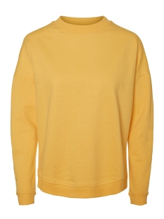 Noisy may Sweater NMLUCKY L/S SWEAT COLOR 27000700 Lemon Chrome
