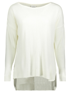 Noisy may Trui NMCHEN L/S BOATNECK LONG KNIT CLR 27001084 Snow White