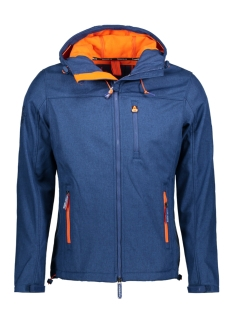Superdry Jas M50000ZQF6 OP4 (Royal Marl/Orange)