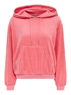 Only Sweater onlVIVIAN L/S HOOD CC SWT 15148611 Strawberry Ice