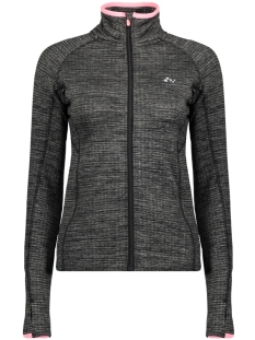 Only Play Sport vest onpRUE RUN BRUSHED FULL ZIP LS 15145564 Moon Mist