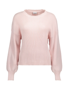 Noisy may Trui NMVETE L/S O-NECK KNIT 8B 27000314 Barely Pink