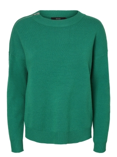 Vero Moda Trui VMJULIE LS O-NECK BLOUSE BOO 10189341 Pepper Green