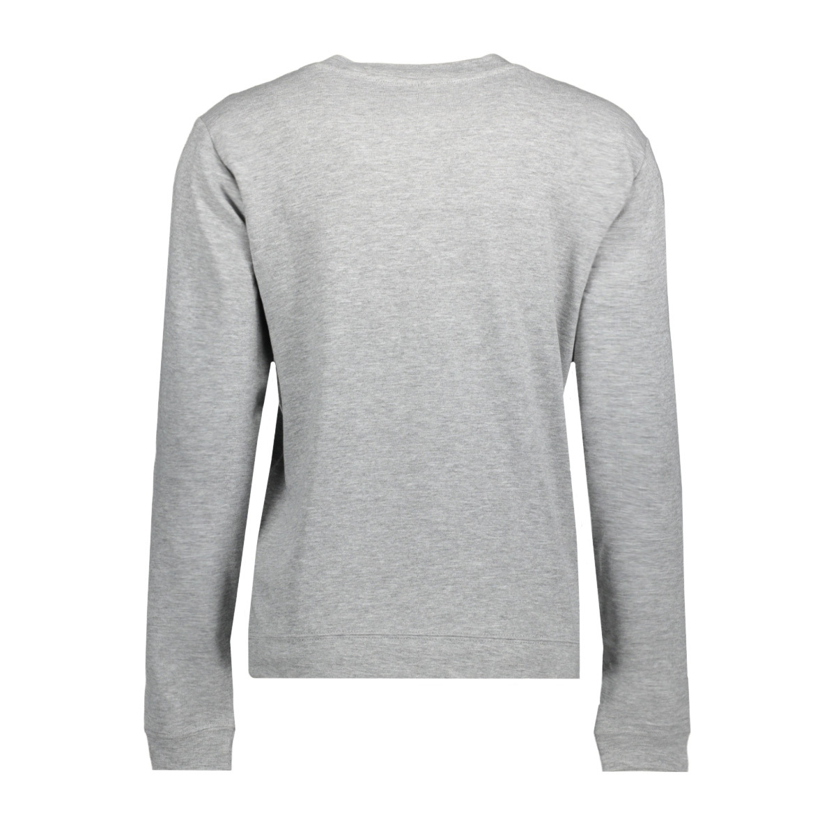 jdynewton l/s print sweat 02 swt 15143170 jacqueline de yong sweater light grey mela/harmonie