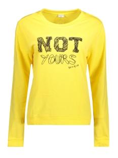 Jacqueline de Yong Sweater JDYNEWTON L/S PRINT SWEAT 02 SWT 15143170 Primrose Yellow/NOTYOURS