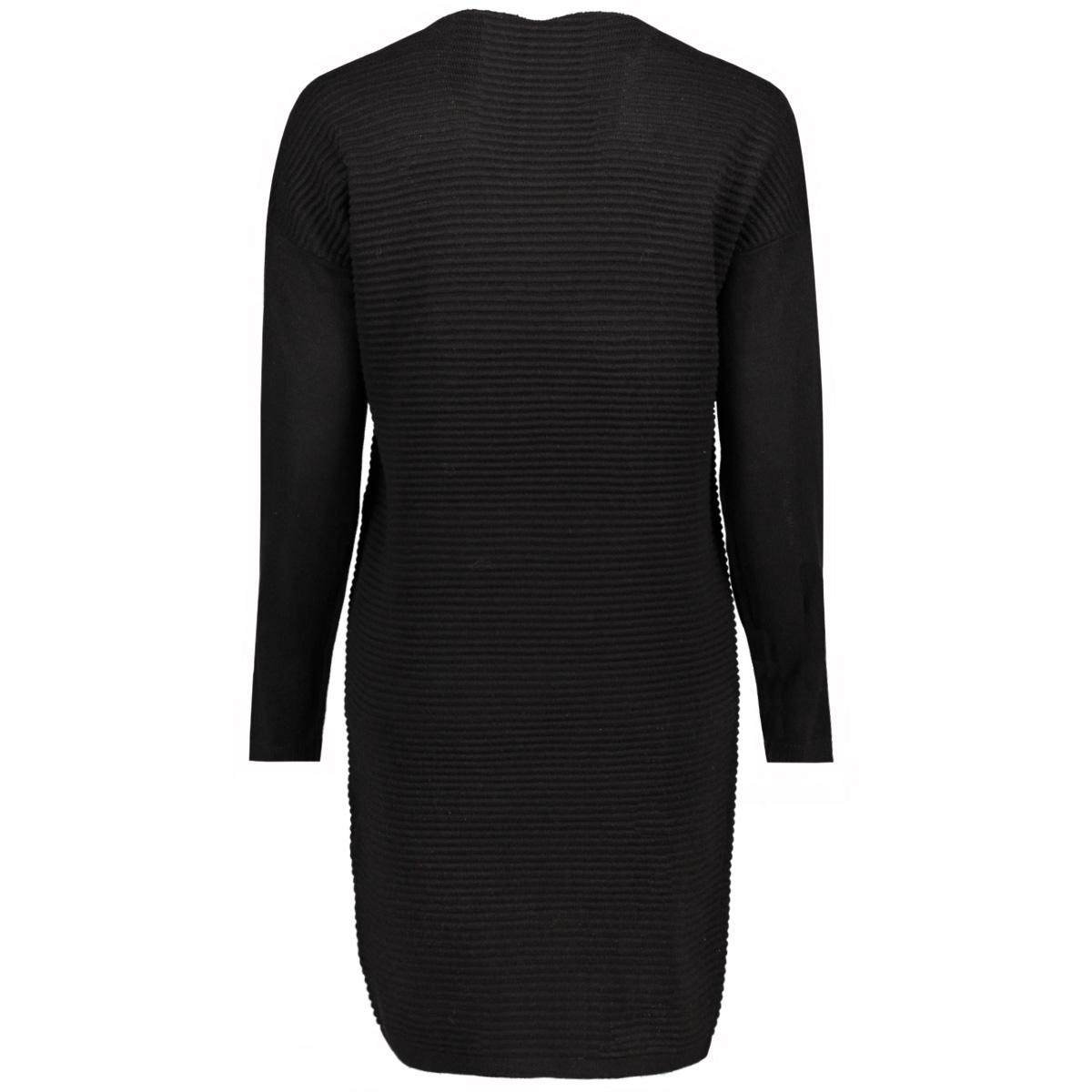 jdytint l/s solid dress knt 15146576 jacqueline de yong jurk black