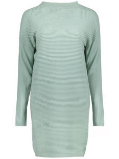 Jacqueline de Yong Jurk JDYTINT L/S SOLID DRESS KNT 15146576 Gray  Mist