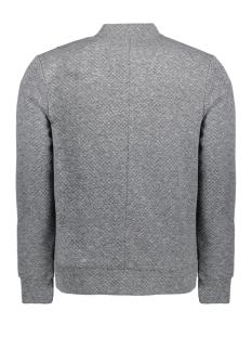 jprwallet sweat zip basball neck 12136475 jack & jones vest dark grey melange