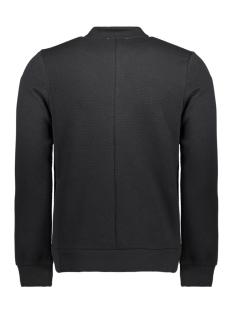 jprwallet sweat zip basball neck 12136475 jack & jones vest black/quilted