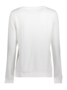 onlsound l/s o-neck box swt 15152509 only sweater bright white/whos got