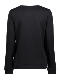 onlsound l/s o-neck box swt 15152509 only sweater black/sound the