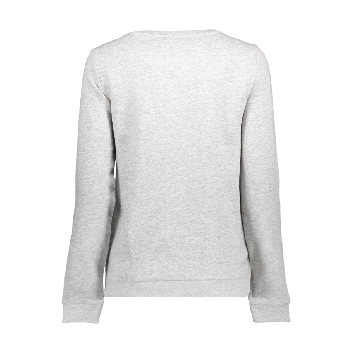 onlsound l/s o-neck box swt 15152509 only sweater light grey mela/whos