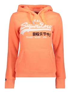 Superdry sweater G20005SQ NE8 (Fluro Coral Snowy)