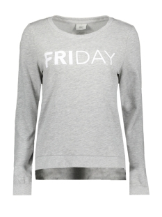 Only Sweater onlSOUND L/S O-NECK BOX SWT 15152509 Light Grey  Mela/Friday