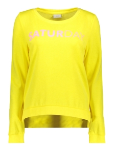 Only Sweater onlSOUND L/S O-NECK BOX SWT 15152509 Golden Kiwi/Saturday