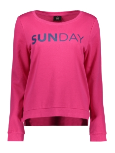 Only Sweater onlSOUND L/S O-NECK BOX SWT 15152509 Pink Peacook/Sunday