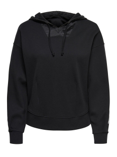 Only Play Sport trui onpHEAVENN HOOD SWEAT 15143916 Black