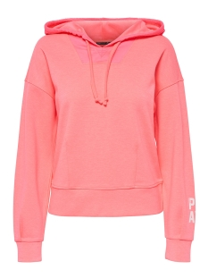Only Play Sport trui onpHEAVENN HOOD SWEAT 15143916 Lipstick Pink