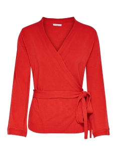 Jacqueline de Yong Vest JDYBELLA 7/8 CARDIGAN KNT HNN 15148959 High Risk Red