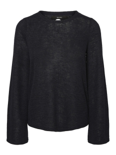 Vero Moda Trui VMKARA LS KEY HOLE BLOUSE 10192358 Night Sky
