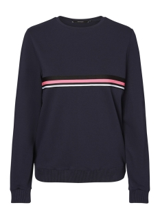 Vero Moda Sweater VMNOVA STRIPE L/S SWEATSHIRT D2-1 10192349 Night Sky