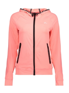 Only Play Sport vest onpRENEA HOOD ZIP SWEAT 15143963 Lipstick Pink