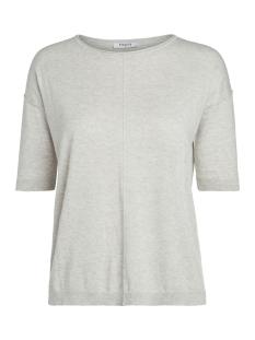 Pieces T-shirt PCIRMA 2/4 KNIT 17087235 Light Grey Melange