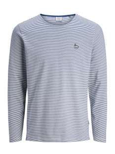 Jack & Jones Trui JORALIVE TEE LS CREW NECK 12131814 Estate Blue