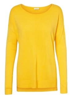 Noisy may Trui NMCHEN L/S BOATNECK LONG KNIT CLR 27001084 Lemon Chrome