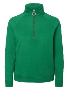 Noisy may Sweater NMLUCKY L/S ZIPPER SWEAT X 27002846 Pepper Green