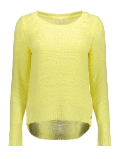 Only Trui onlGEENA XO L/S PULLOVER KNT NOOS 15113356 Yellow Pear