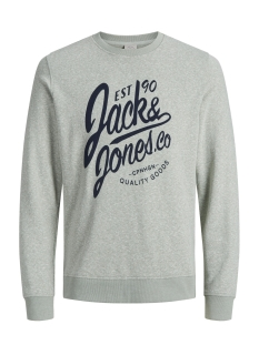 Jack & Jones Sweater JORBREEZE SWEAT CREW NECK 12136538 Iceberg Green