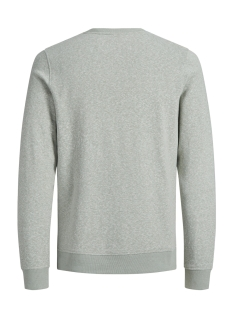 jorbreeze sweat crew neck 12136538 jack & jones sweater iceberg green