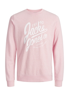 Jack & Jones Sweater JORBREEZE SWEAT CREW NECK 12136538 Silver Pink