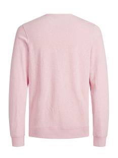 jorbreeze sweat crew neck 12136538 jack & jones sweater silver pink